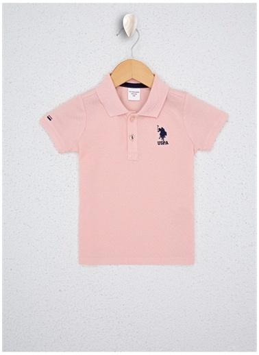 U.S. Polo Assn. Tişört Somon